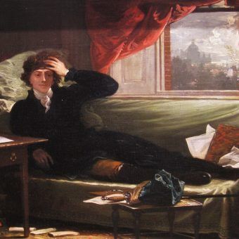 Generał Tadeusz Kościuszko pędzla Benjamina Westa, rok 1797.