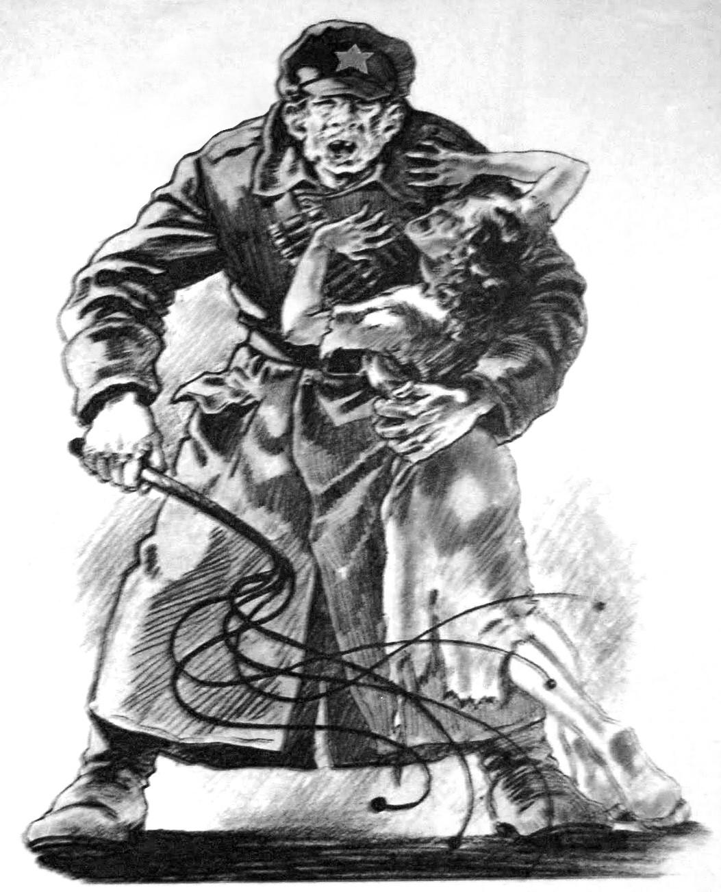Przetrzymywane w obozach NKWD Polski często padały ofiarą gwałtów.
