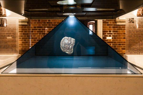 Hologram z pieczęcią majestatyczną Przemysła II.