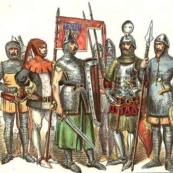 Polscy rycerze na przełomie XIII i XIV wieku według Jana Matejki.