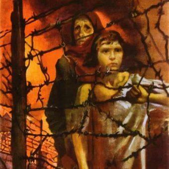 Sowiecie nie mieli żadnych oporów w wykorzystywania do własnych celów pozostawionych przez nazistów obozów koncentracyjnych.