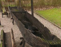 W 2008 roku podobną łódź znaleziono na dnie Odry.