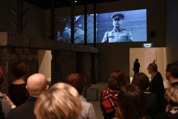 Element ekspozycji Muzeum II wojny światowej.