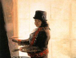 Goya przy pracy. Autoportret/