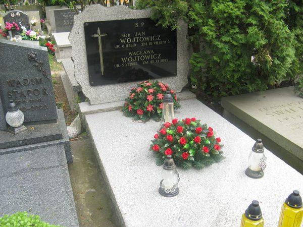 """Jan Wójtowicz, """"Maciek"""" zmarł w 1972 roku w Warszawie. Spoczął na Wojskowych Powązkach."""