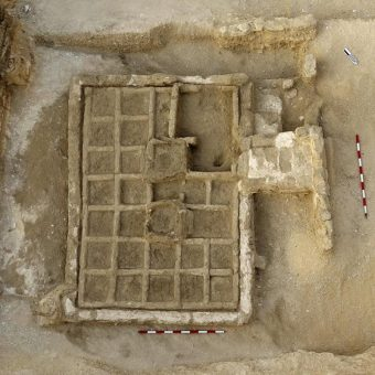 Odkryty w Draa Abul Naga ogród pogrzebowy.