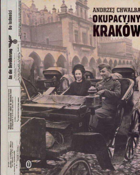 Andrzej Chwalba, Okupacyjny Kraków