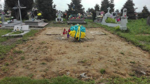 Oto co zostało ze słynnego pomnika UPA w Hruszowicach (stan na 08.05.2017).