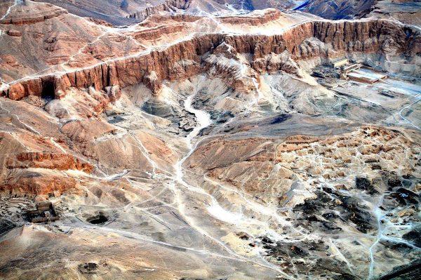 Dzięki odkryciu Jadwigi Iwaszczuk wzbogaciła się nasza wiedza o okolicach Luksoru (tu widzianych z perspektywy balonu).