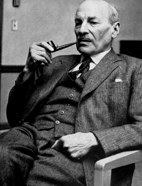 Brytyjski premier Clement Atlee wolał nie drażnić rosyjskiego niedźwiedzia.
