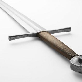 XIV wieczny miecz spoczywał na dnie torfowiska.