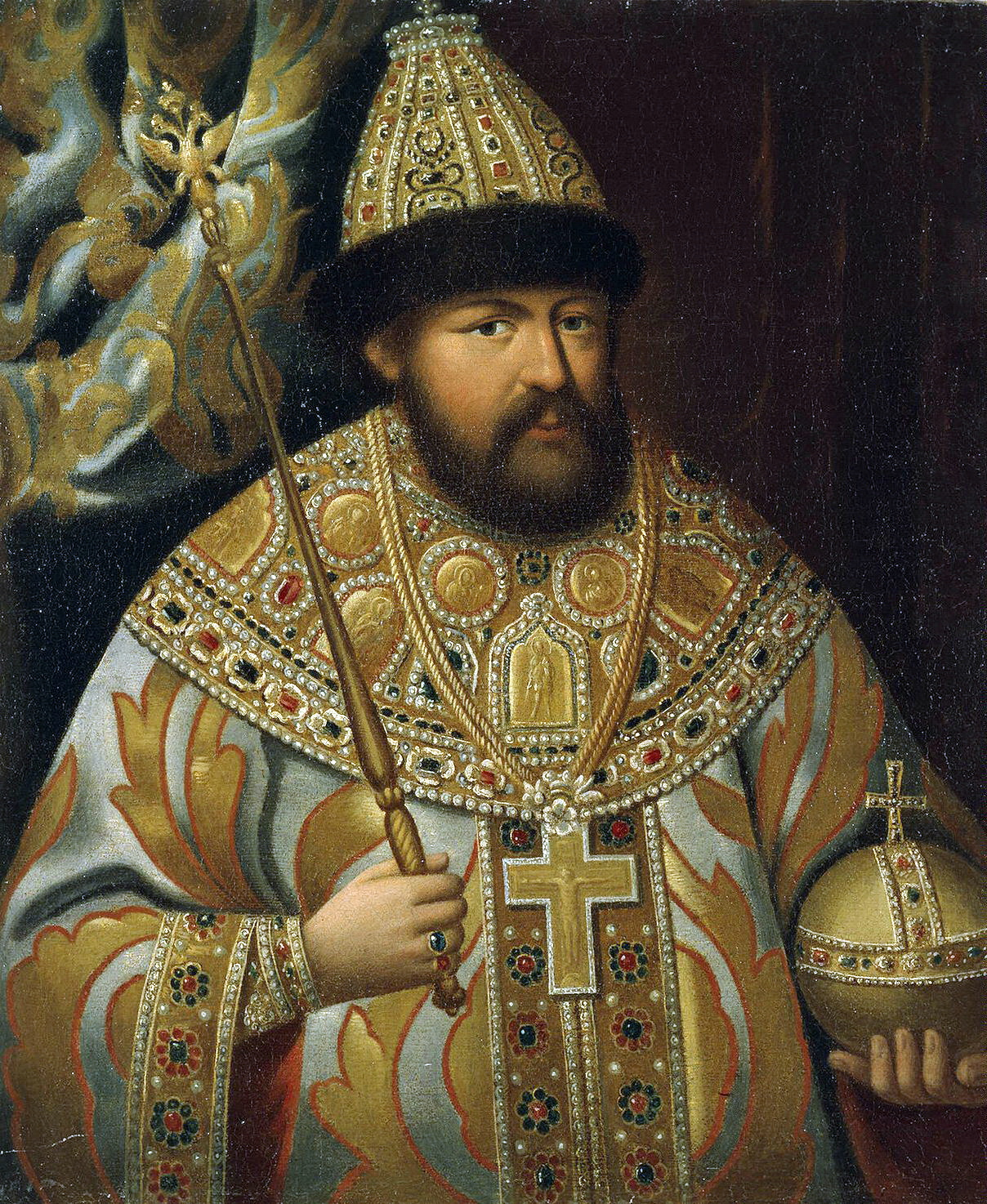 Car Aleksy I i jego wojska doszczętnie splądrowały Wilno.