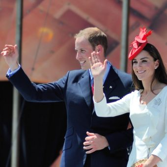 William i Kate w Kanadzie w 2011 roku.