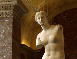 Wenus z Milo w Luwrze.