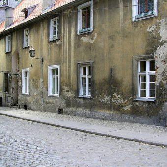 Dawny szpital w Toruniu na ul. Szpitalnej 4