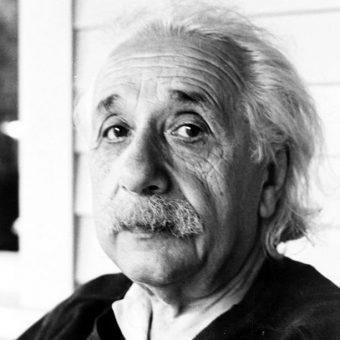 Einstein na zdjęciu z lat 50.