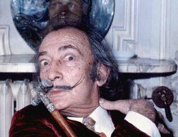 Salvador Dali w Paryżu w 1972 roku.