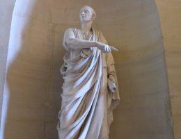 Cyceron, polityk, wybitny mówca i filozof prawa.