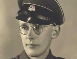Oskar Groning przed 1945 rokiem.