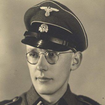 Oskar Gröning przed 1945 rokiem.