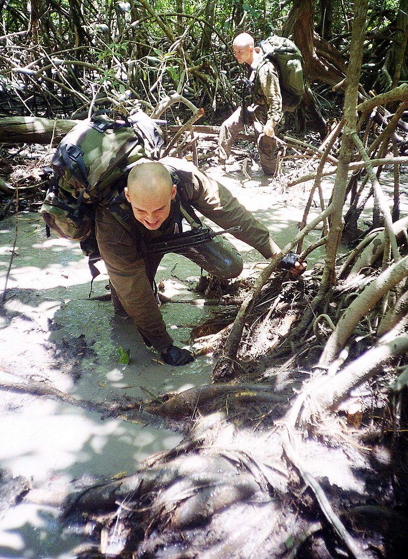 Trening przyszłych Legionistów nie był łatwy. Trwające od 15-17 tygodni szkolenie przechodzili tylko najlepsi.