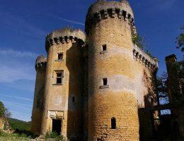 Zamek w Paluel w 2012 roku.