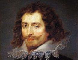 George Villiers, książę Buckingham, na uważanym dotychczas za kopię obrazie Rubensa.