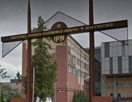 Budynek białostockiego oddziału IPN. Fotografia Google Maps.