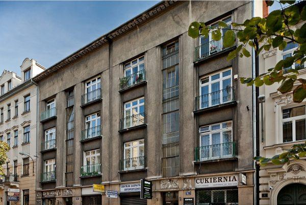 Jedna z kamienic przy Batorego w Krakowie. To przy tej ulicy przyjmował doktor Kurkiewicz.