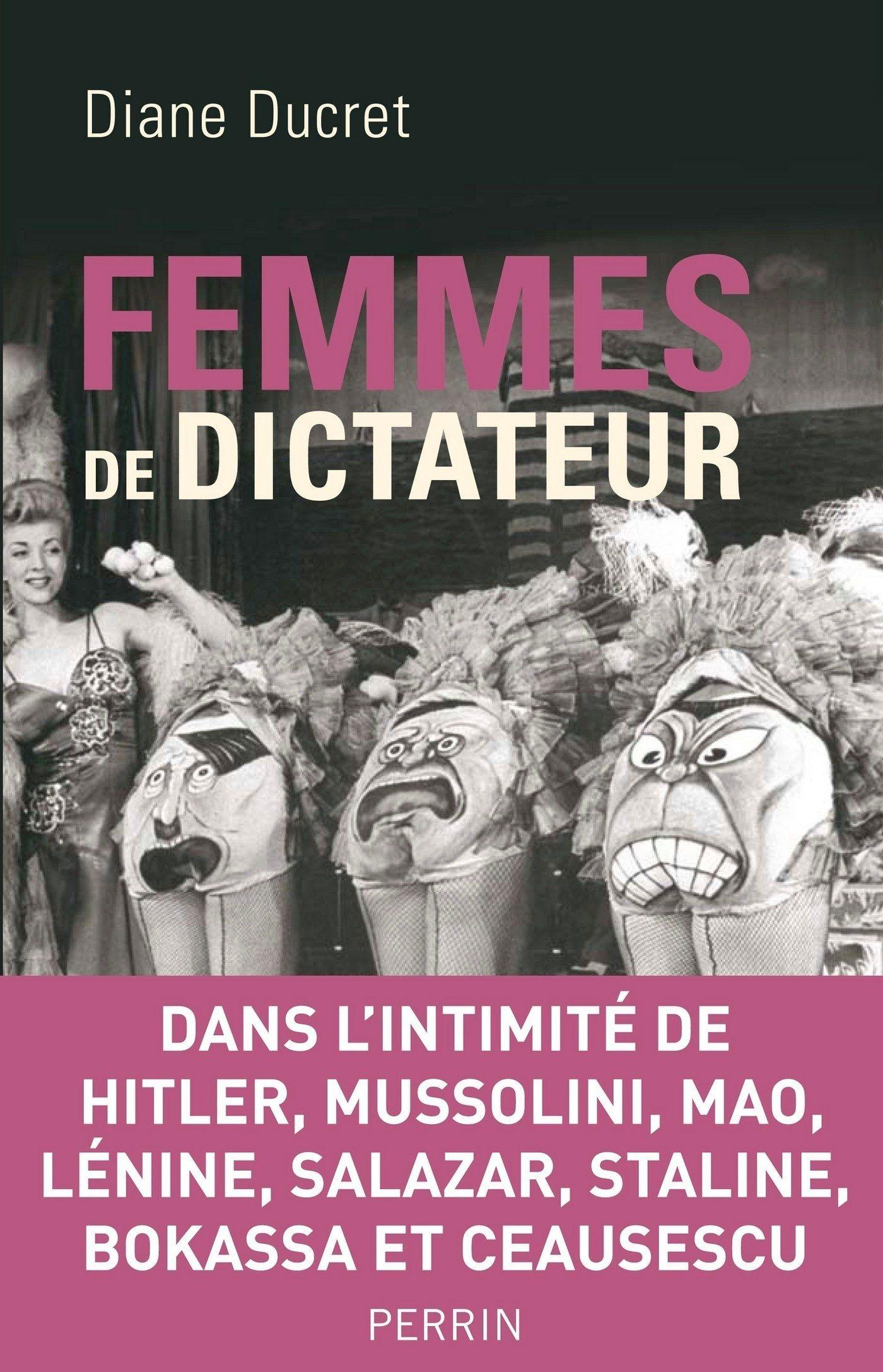 Oryginalna okładka francuskiego wydania Kobiet Dyktatorów.