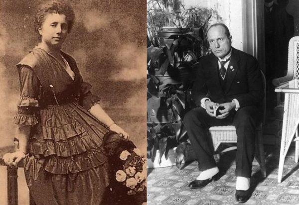 Margherita Sarfatti podobała się wielu mężczyznom, w tym Mussoliniemu. Oba zdjęcia pochodzą z ok. 1922 roku.