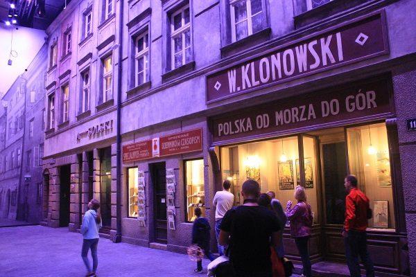 Wystawa Muzeum II Wojny Światowej w Gdańsku. (Zdjęcie opublikowane na licencji CCA-SA 4.0 I, autor: Andrzej Otrębski).