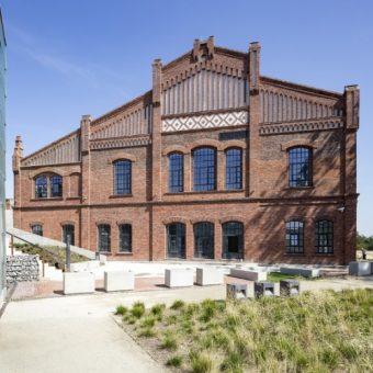 Budynek łaźni głównej. Zdjęcie pochodzi z materiałów prasowych Muzeum Śląskiego.