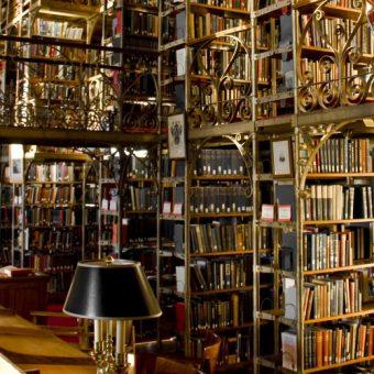 Biblioteka uniwersytecka. (Zdjęcie opublikowane na licencji CC BY 2.0, autor: eflon ).
