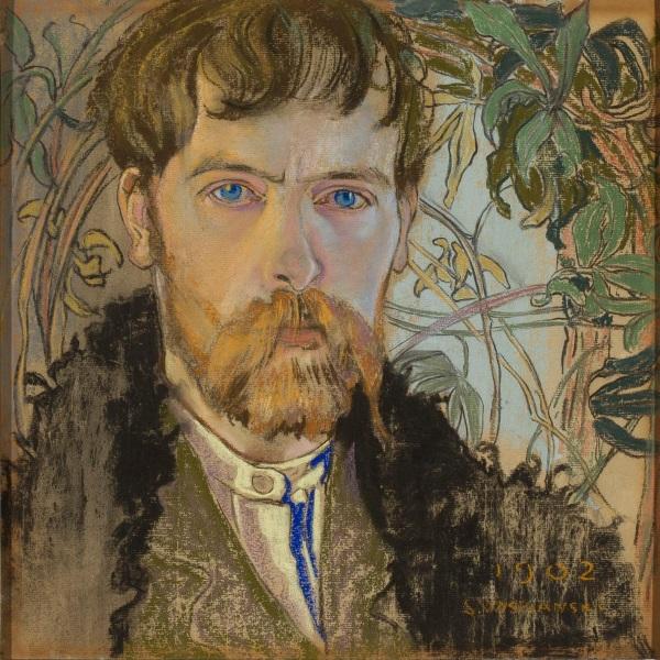 """Stanisław Wyspiański, """"Autoportret""""."""