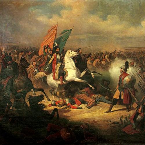 Czarniecki podczas wojny polsko-rosyjskiej na obrazie Januarego Suchodolskiego