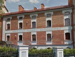 Lubelski oddział IPN, gdzie zatrudniony jest Tomasz Panfil.