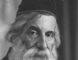 Rabin Ichaskel Lipszyc, prezes Związku Rabinów. 1932 rok.