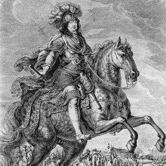 Karol X – obraz namalowany przez Davida Klöcker Ehrenstrahla