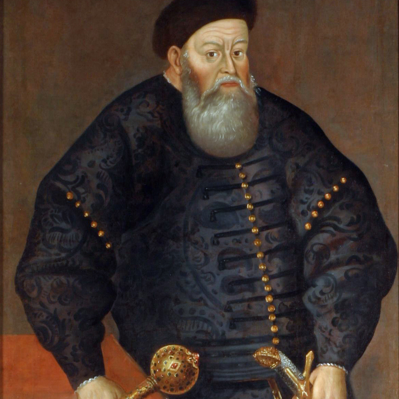Kniaź Konstanty Ostrogski.