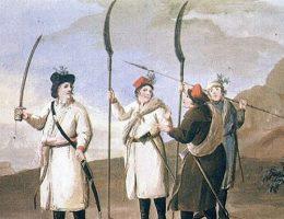 Kosynierzy chłopskiego pospolitego ruszenia z 1794 roku