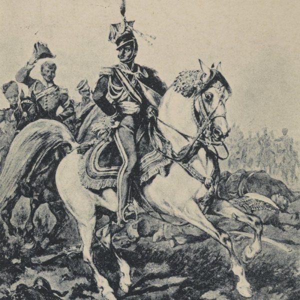 Książę Józef Poniatowski w bitwie pod Zieleńcami