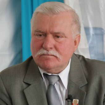 Lech Wałęsa w 2009 roku.