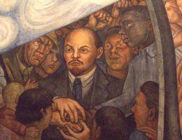 Fragment murala autorstwa meksykańskiego malarza i działacza ruchu komunistycznego Diego Rivera z 1934 roku.
