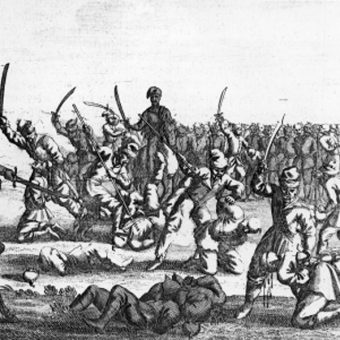 Masakra polskich jeńców po bitwie pod Batohem