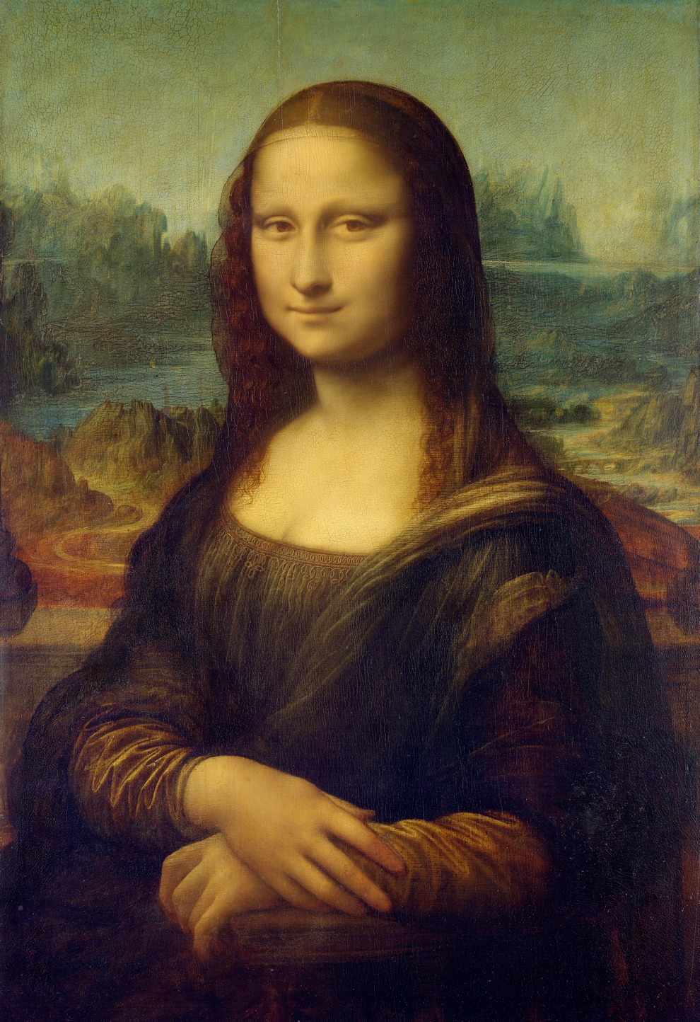 Ostateczna i ubrana wersja Mony Lisy pędzla Leonarda da Vinci.