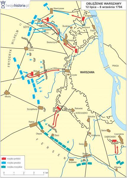 Oblężenie Warszawy, 1794.