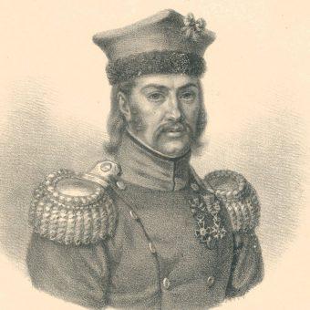 Generał Julian Sierawski. Jako 20-latek brał udział w bitwie pod Dobronowicami