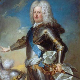 Stanisław Leszczyński na portrecie pędzla Jeana-Baptiste'a van Loo