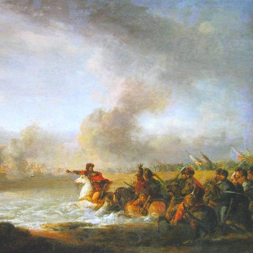Stefan Czarniecki w bitwie pod Warką